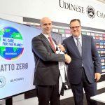 Il Dacia Arena tra i primi stadi d'Italia ad impatto zero grazie a Bluenergy