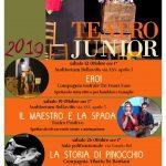 Spettacoli per i più piccoli, gratuiti con Teatro Junior