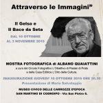 Presto inaugurata la mostra fotografica di Albano Quaiattini a Codroipo