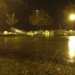 Nubifragio nella notte, Lignano resta isolata