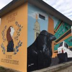 """Vandalizzato il murales dell'artista Mestroni a Udine: """"Sei un fascista"""""""