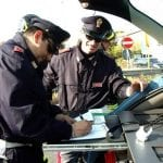 Controlli della polizia sulle strade di Udine: 5 patenti ritirate