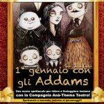 Il nuovo spettacolo da paura della Famiglia Addams con Ana-Thema Teatro