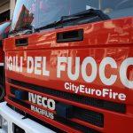 Divampa un incendio in un container, scatta l'allarme a Fogliano