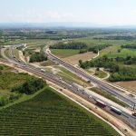Il nuovo nodo di Palmanova dell'autostrada è realtà, aperta la terza corsia