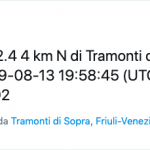 La terra trema ancora, scossa tra Carnia e Val Tramontina