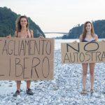 La protesta dei giovani contro la nuova autostrada Cimpello-Gemona