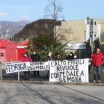 """Nell'ospedale di Gemona chiuso il primo intervento e altri reparti, flash mob di protesta: """"Stufi di essere trattati da territorio di serie B"""""""
