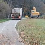 Un nuovo percorso pedonale al fianco della pista ciclabile, via ai lavori a Tarvisio