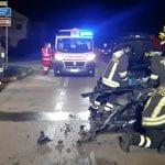 Incidente stradale sulla strada provinciale a Codroipo, 2 auto coinvolte