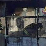 Gazebo prende fuoco nel giardino di una casa di Udine, scatta l'allarme
