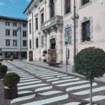 Il portone di palazzo de Nordis di Cividale tornerà al suo colore originario