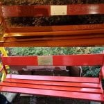Deturpata la panchina rossa di Gorizia nella giornata della violenza sulle donne