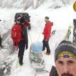 Bloccata in casa dalla neve senza la bombola d'ossigeno, arrivano i soccorsi