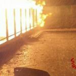 Paura a Pasian di Prato, fulmine colpisce una cabina del gas e la fa esplodere