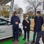 Nuove colonnine per le auto elettriche a Udine, in città 24 punti di ricarica