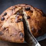 Pan dolce di Natale con uvetta, il tradizionale dolce della Vigilia friulana