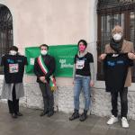 Sindaco e assessori di Tolmezzo partecipano alla staffetta virtuale di Telethon