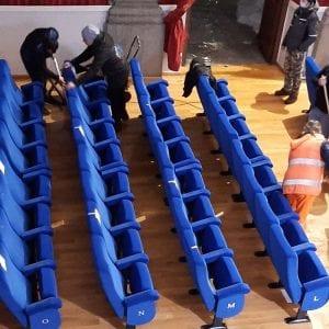 Teatro allagato, a Pontebba i fondi per ripristinare la sala: stanziati 100mila euro