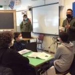 Sulle ciaspole per scoprire il territorio, una guida per gli studenti della Carnia