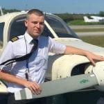 Riccardo, da Tolmezzo agli Usa per coronare un sogno e diventare istruttore di volo