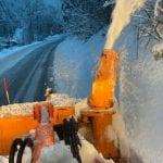 Dopo le grandi nevicate riaprono le strade in Friuli rimaste chiuse da 2 gennaio