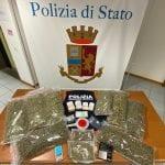 Via vai sospetto in una palazzina di Udine, arrestato con più di 5 chili di droga