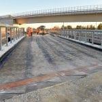Pronto il nuovo cavalcavia sull'autostrada Udine-Trieste al nodo di Palmanova