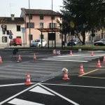 Dopo le polemiche in piazza a Povoletto arrivano le strisce pedonali