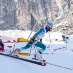 Attesa a Sella Nevea per la Coppa Europa di sci, la difficile discesa del Canin