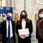 Laureata a Udine, Giulia vince il premio della Fondazione Pittini