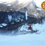 Travolto dalla valanga a Sella Nevea, muore un escursionista sloveno