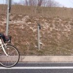 Anziana in bicicletta percorre la tangenziale di Udine contromano