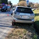 Scontro tra due auto sulla provinciale di Treppo Grande, 3 feriti. Uno è grave