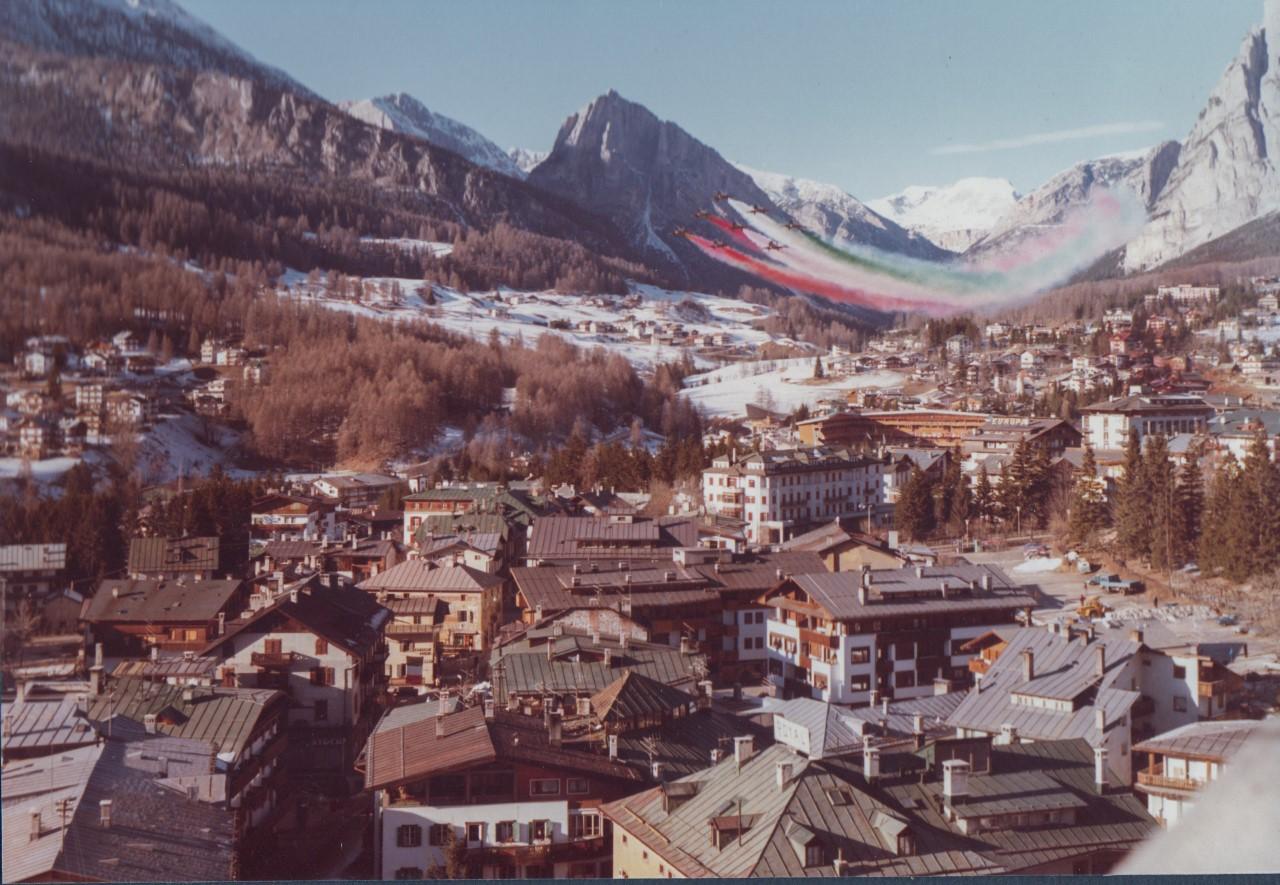 Codroipo, Frecce tricolori a Cortina dopo 40 anni per i mondiali di sci