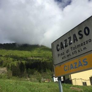 Dopo il cedimento, chiude per 4 mesi la strada fra Cazzaso e Cazzaso Nuova