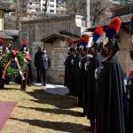 Commozione per l'omaggio di Tarvisio ai 12 carabinieri trucidati a Malga Bala