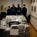 Da Cervignano a Gorizia con un carico di 52 chili di marijuana nel camion