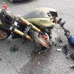 Centauro muore 9 giorni dopo lo scontro tra moto e auto a San Daniele