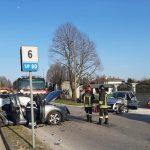 Frontale tra due auto sulla provinciale per Porpetto,  feriti i conducenti