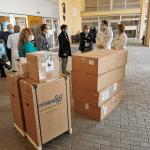 Tutta Palmanova si è mossa per l'ospedale, la donazione per le attrezzature