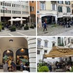 I bar riaprono anche sotto la pioggia, in piazza a Udine torna il rito del caffè