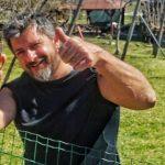 L'ultimo saluto a Igor a Villa Santina, rappresentativa di bikers al funerale