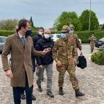 Il generale Figliuolo in Friuli, piano vaccini e situazione contagi. Apertura agli over 30