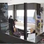 Ladruncoli nel tennis club di Tarcento, ma la telecamera riprende tutto