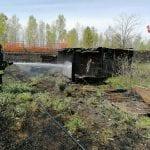Immondizie a fuoco in un campo a Codroipo, in pericolo le baracche vicine