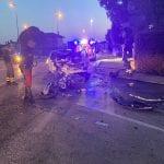 Tremendo schianto appena fuori Mortegliano, un morto ed un'automobilista ustionata