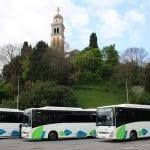 Svolta green per Udine, 5 nuovi bus extraurbani alimentati a gas naturale