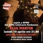 Si esibisce in diretta dalla Polinote Music Room la talentuosa Elsa Martin