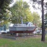 Nuovo parco giochi e motovedetta al porticciolo di Monfalcone